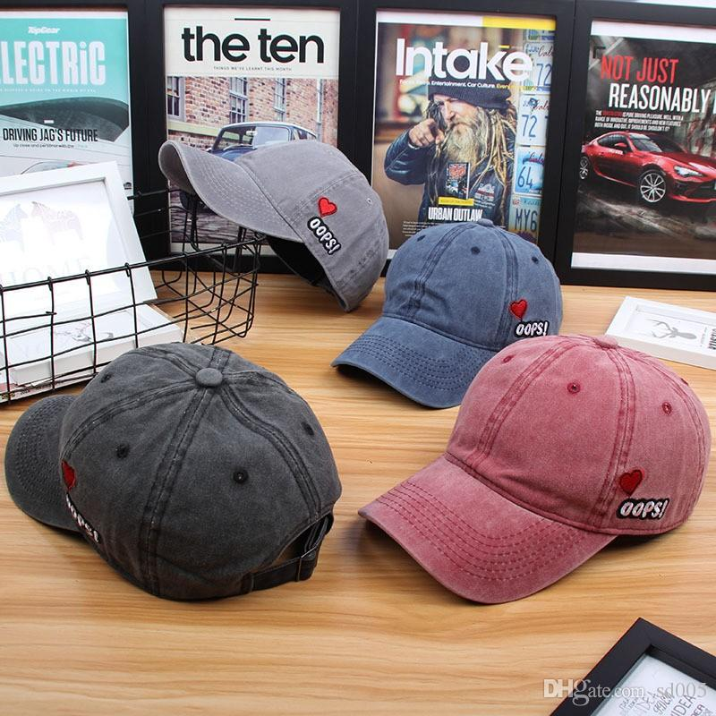 6fb8f480 Spring And Summer Adults Baseball Cap Embroidery Oops Designer Hats For Men  And Women Snapback New Arrival 9 3cp BB