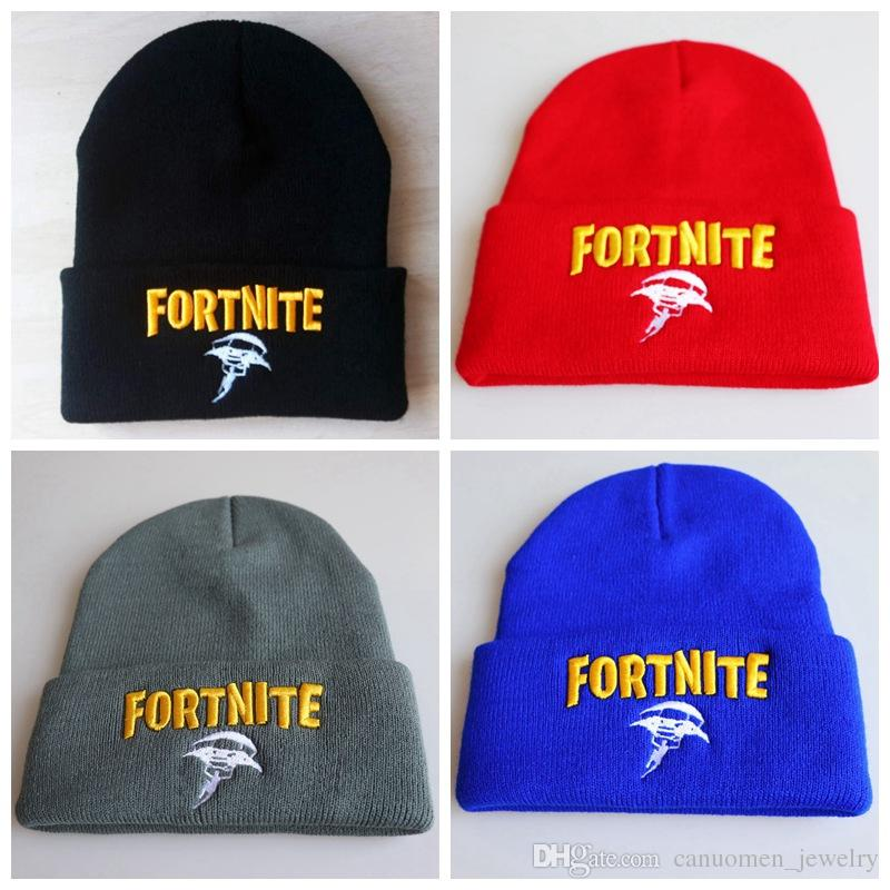 f17557587df Fortnite Hat Knitting Caps Embroidery Costume Cap Game Fans Gift ...