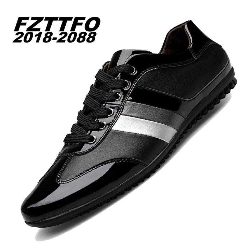 80c691efb Men's 100% Genuine Leather Handmade Driving Shoes,New Business ...