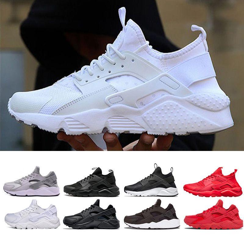new product 79e38 258f5 Compre Barato Huarache Ultra Zapato Para Correr Triple Blanco Negro Rojo  Gris Hombres Mujeres Zapatos Para Correr Huaraches Deporte Casual  Entrenador ...