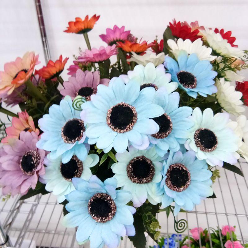 2019 Import China Silk Flowers Silk Chrysanthemum Daisy Real Touch