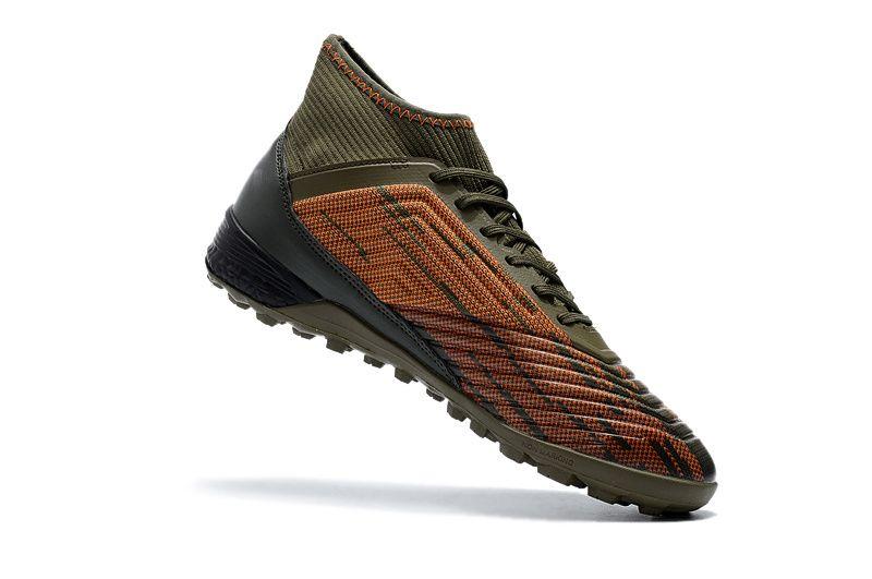 319d807dc80 Compre Brown Black Messi Soccer Cleats 100% Original Predator Tango 18.3 Tf  Zapatos De Fútbol Para Interiores A  53.82 Del Top soccer2018