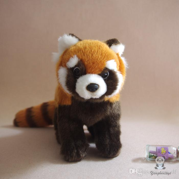 2019 Real Life Stuffed Red Panda Doll Child Toys Lovely Plush