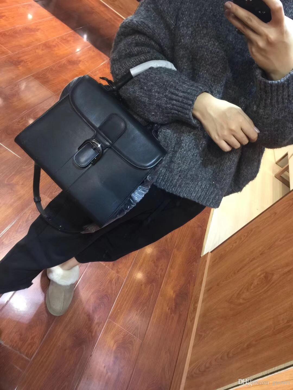2017 nouvelle mode élégante marque femmes en cuir sac à bandoulière modèle bandoulière fourre-tout sac à main avec bandoulière sangle 28 * 13 * 24 cm
