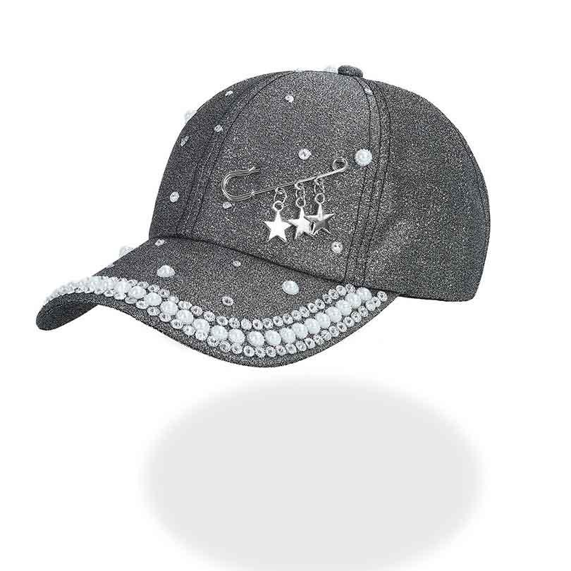 3b4371e790c 2018 Men s Women s Novelty Hat New Cap Custom Design Star Rings Pin Pattern  White Black Solid Spring Summer Autumn Female Caps Caps For Men Custom  Baseball ...
