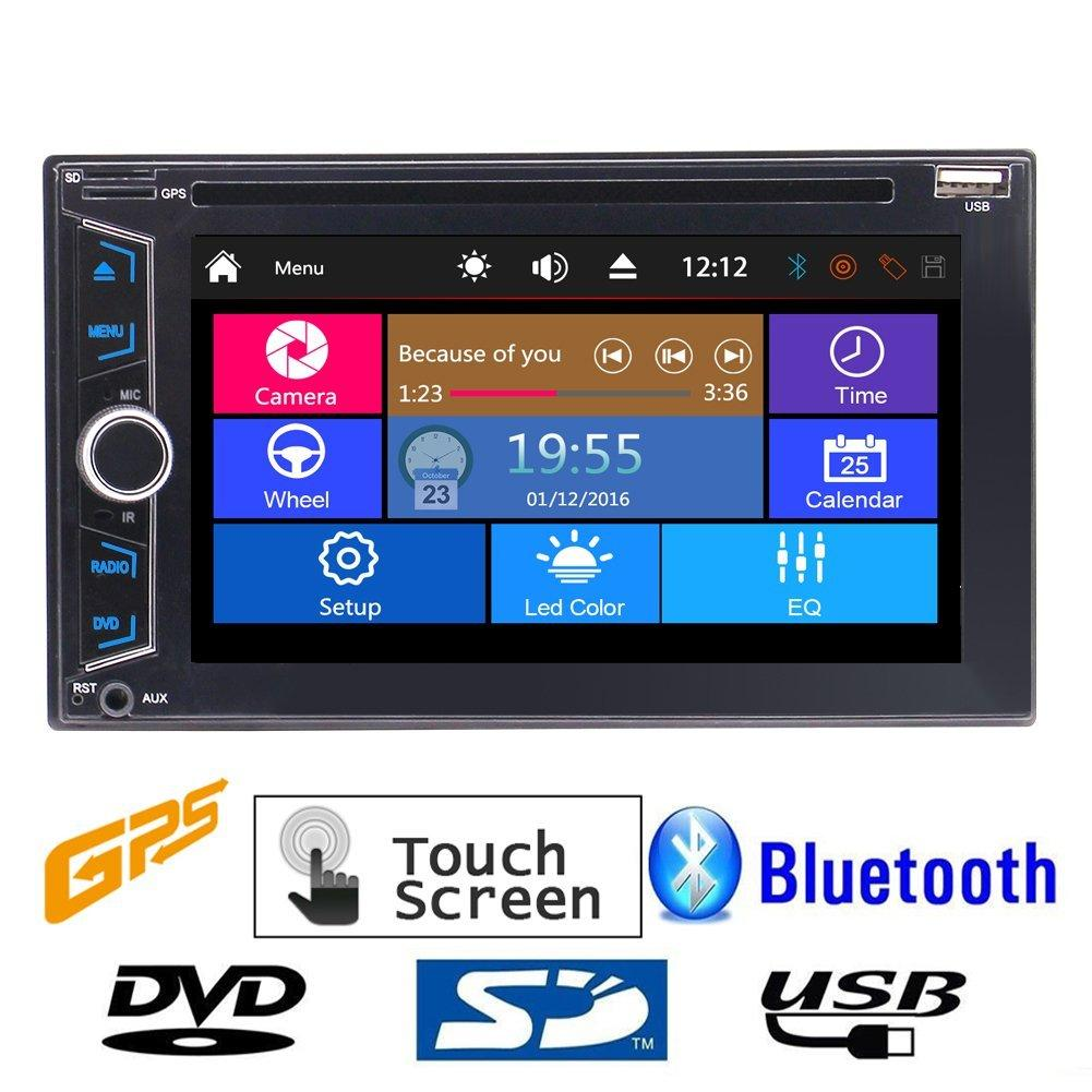 Double 2din Car Headunit Electronics Car Dvd 1080p Video Music