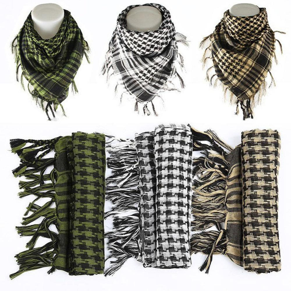 15d7a8eacb948 2018 Hot Sale 100% Cotton Thick Arab Scarves Muslim Hijab Shemagh Tactical  Desert Men Winter Windproof Scarf Designer Scarves Winter Scarves From  Melontwo