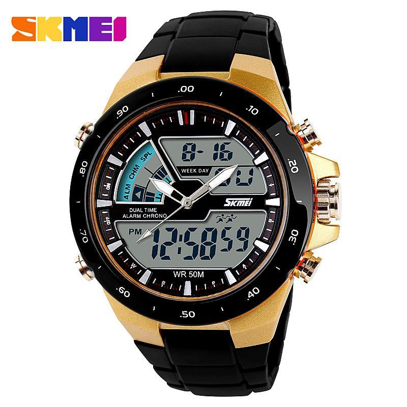 732fb92560b Watches Men Luxury Brand Skmei Quartz Watch Led Digital Reloj Hombre Men  Students Sport Wristwatches Casual Relogio Masculino Watches Of Switzerland  Cheap ...