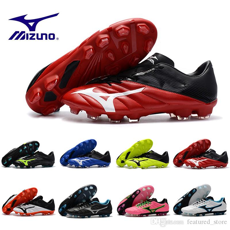 82d4b4a141 2019 Mizuno Rebula V1 Men Football Boots Soccer Shoes Cleats BASARA AS WID  Classic Predator Outdoor Futsal Sports Sneakers Running Shoes 40 45 From ...
