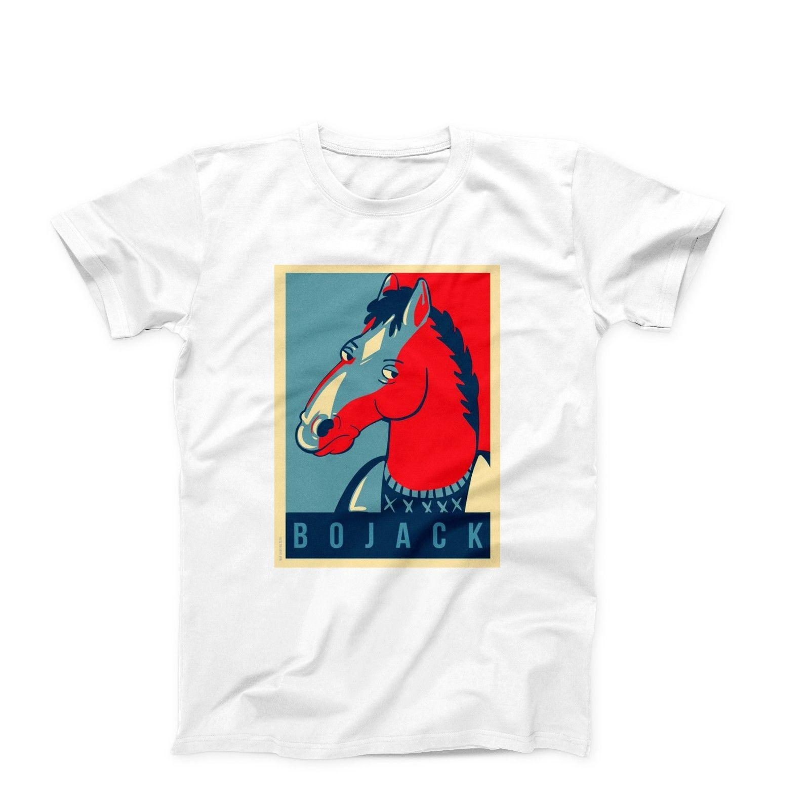 4b1f96c4a5 Bojack Horseman Anime TV Show Funny Novelty T Shirt Tee Birthday Gift  Comical T Shirts T Shirt With From Shirtsthatrock, $11.01| DHgate.Com