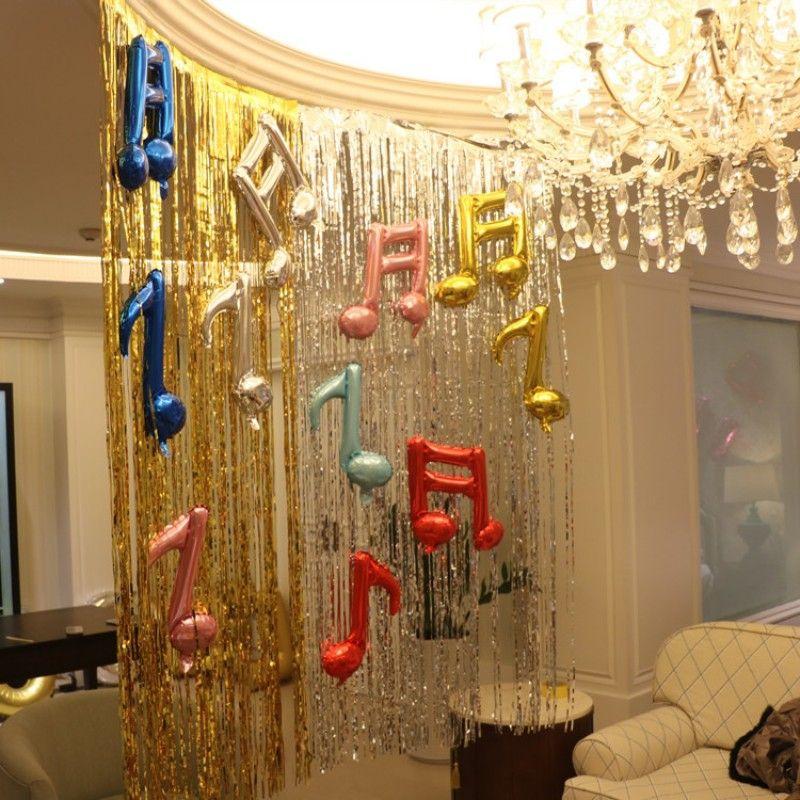 Colorful Laser Rain Curtain Pet Eco Friendly Tassel Rains Ribbon For Christmas Party Scene Wedding Decorations Props Hot Sale 8be3 Bb Theme Decoration