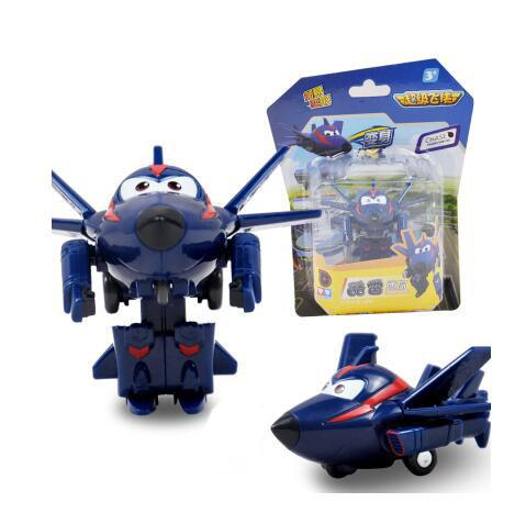 Hot Sales 7CM Super Wings Mini Airplane baby toys Action Figures Super Wing Transformation Robot toys Animation