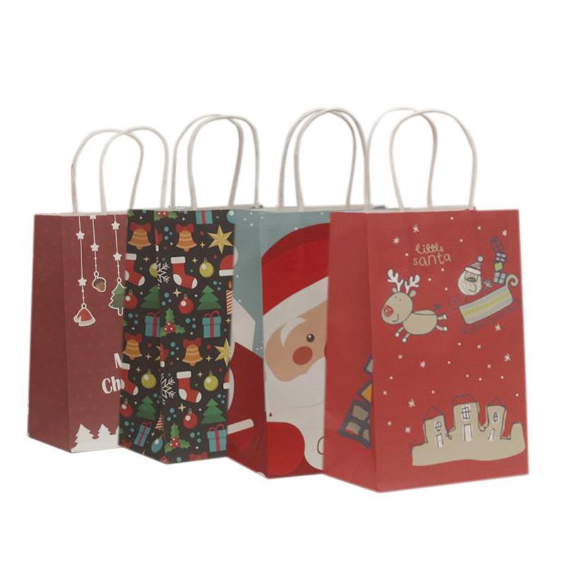 Großhandel 10 Teile / Los Multifuntion Weihnachten Papiertüte 21 ...