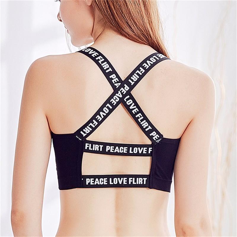 fa4ce43f8c485 2017 Women Sexy Cross Back Sports Bra Fitness Yoga Sportswear Gym Top  Underwear Aliexpress Aliexpress.com Online Shopping Online with   38.93 Piece on ...