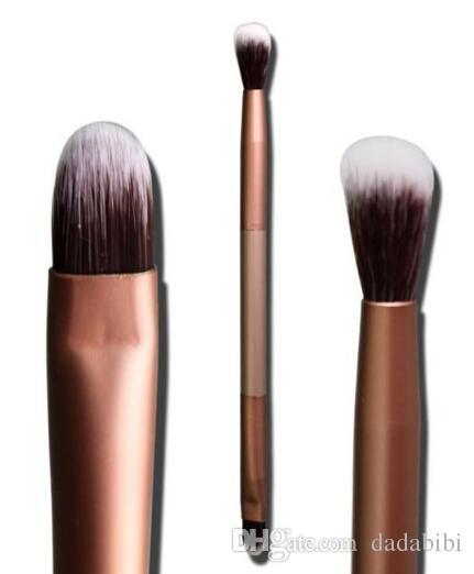 NOVA CHEGADA Paraíso Perfeito Excelente Doubled-end Sombra de Olho Sobrancelha Escova escova de Maquiagem de alta qualidade Frete Grátis