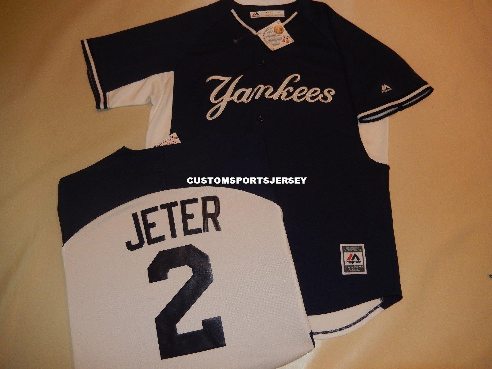 2019 Cheap Custom DEREK JETER Baseball Jersey BLUE New Stitched Customize  Any Name Number MEN WOMEN BASEBALL JERSEY XS 5XL From Customsportsjersey ef0dc8c41eb