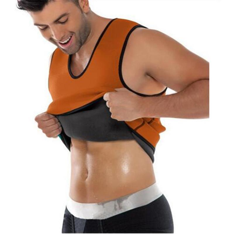9381b65712551 Men s Sauna Vest Ultra Sweat Hot Shapers Shirt Man Black Redu Shaper ...