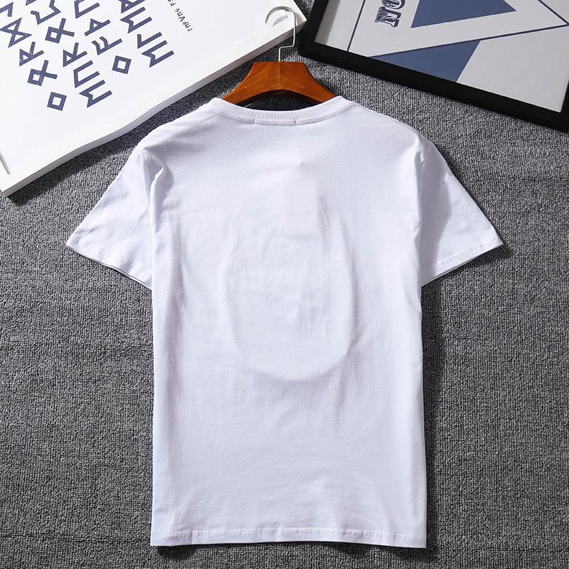promo code 1299b 2df6e Magliette di marca per Uomo Donna Casual Magliette Coppia estiva Mens  Vestiti Moda allentata Tide Lettera Stampa manica corta Tees