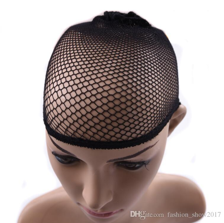 Invisible High Stretch Elastic Fishnet Hair Net Wigs Cap For Snood Mesh Hair Weaving Nylon Ordinary Small Packet