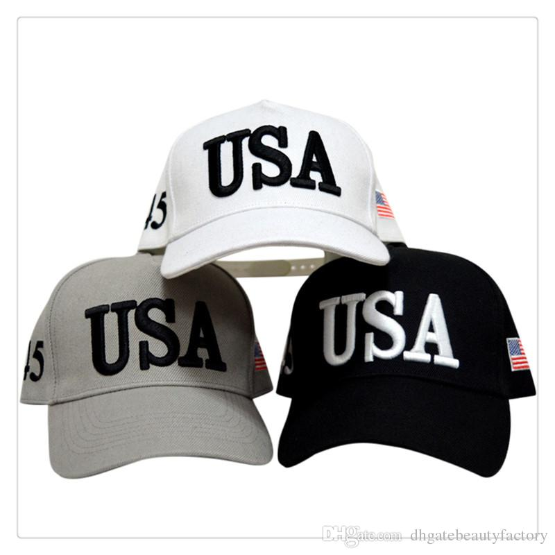 a98d1371 Baseball Cap Hat Unisex Cool Fashion USA Election Embroidery Letter Number  Baseball Cap Hat High Quality Fitted Cap Baseball Caps For Men From ...