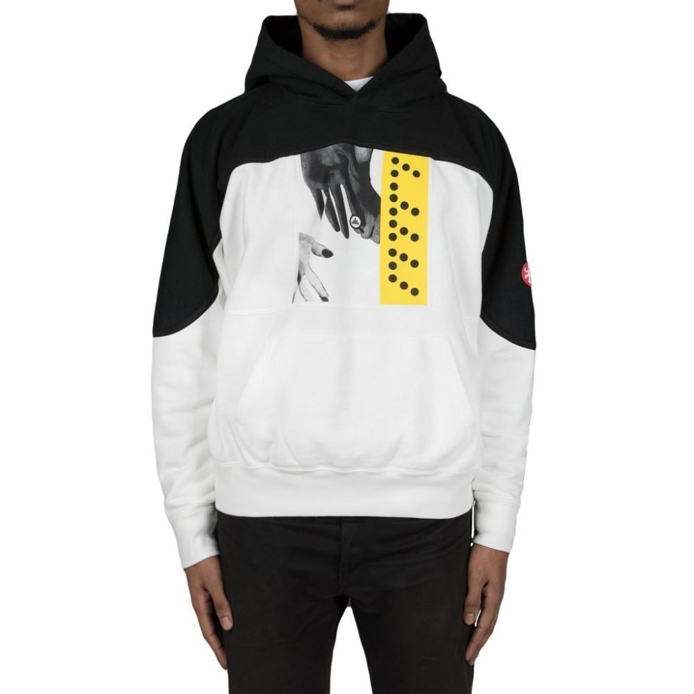 2019 CAV EMPT 18AW C DOT E HEAVY HOODY C.E Black And White Stitching Hooded  Sweater Men Women High Quality Hooded Sweater HFBYWY181 From Fear_store, ...