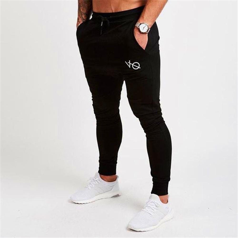 70aedbbdb 2019 Men'S Athletic Gym Joggers Cotton Pants Fitness Jogging Fit Pants  Casual Sport Singlet Leggings From Clemmenttt, $12.19 | DHgate.Com