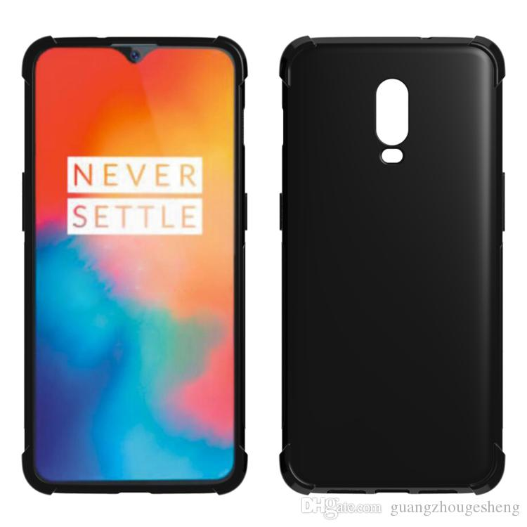 various colors bf784 7953d For Oneplus 6T One Plus 6T 1 6T Anti Shock Edge Soft Gel TPU Case Back  Cover 2018
