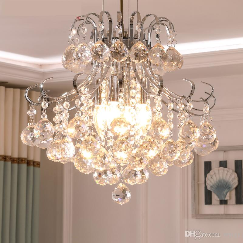 Bedroom Kitchen Chandelier Novelty Lighting Lustres De Sala For Home Decorate Modern Large Crystal Chandelier Lamps Lights Avize Chandeliers