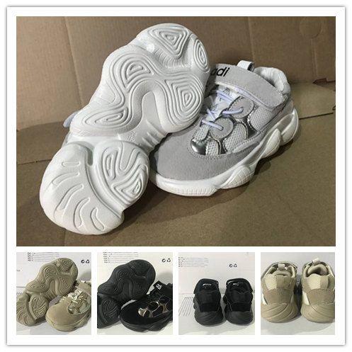 ac472787d237a Kids Shoes 2018 Hot Sale Boost 500 Blush Desert Rat Kanye West Wave Runner  500 Sneakers Running Shoes Designer Shoes Athletic Sneaker Shoes For Kids  Kids ...