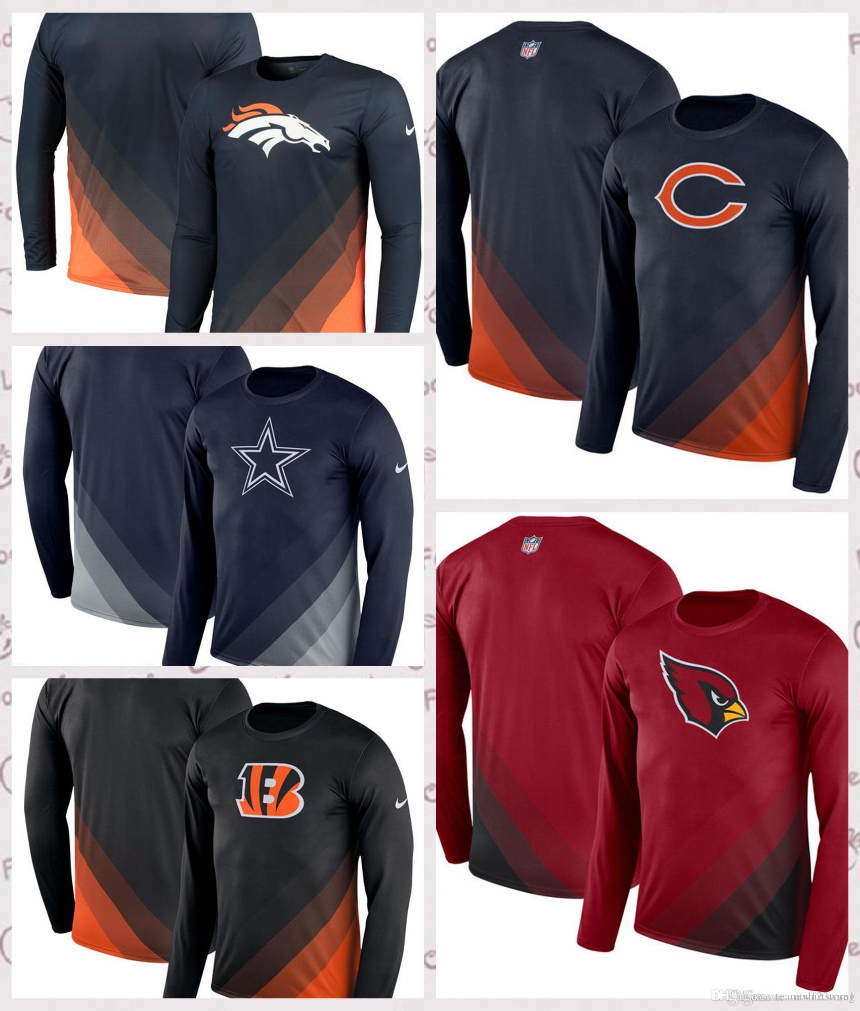 Men s Denver Broncos Dallas Cowboys Cincinnati Bengals Chicago Bears ... 7e51004ab
