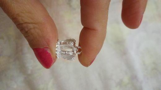 Bright silver Crown charms pendant fit necklace bracelet diy Pendants for jewelry 16*12mm 10pcs