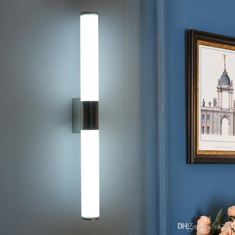 eclairage miroir Acheter Applique Murale Moderne À Miroir LED Pour Appareils Du0027éclairage De  Salle De Bain 8W 12W 16W 24W Appliques Murales Avant À Miroir De $24.05 Du  Ok360 ...