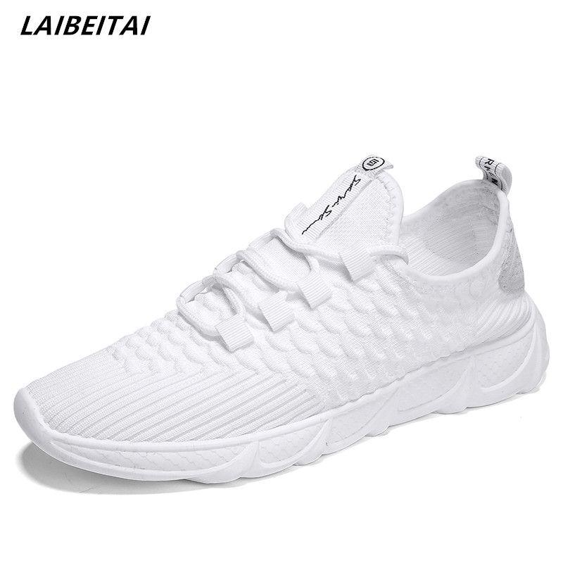 4b3cb66bcb5 Compre Zapatillas De Deporte Al Aire Libre Para Hombre Zapatos Planos De Verano  Transpirable Zapatos De Otoño Encajes Para Adultos Zapatos Para  Adolescentes ...