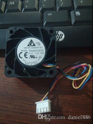 перепад 4020 TAA0412CD DC12V 0.60 A 40*40*20mm 4 линия вентилятор охлаждения на воздухе температуры высокоскоростной