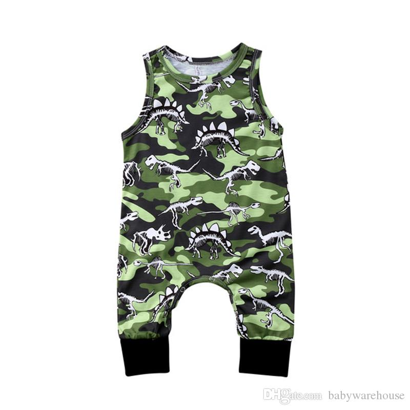 c356bf8f4c0a 2018 New Baby Boy Clothes Infant Toddler Baby Rompers Newborn Boys Girls  Dinosaur Printing Jumpsuit Sunsuit Outfits Kids Clothing for Boys Baby Boy  Clothes ...