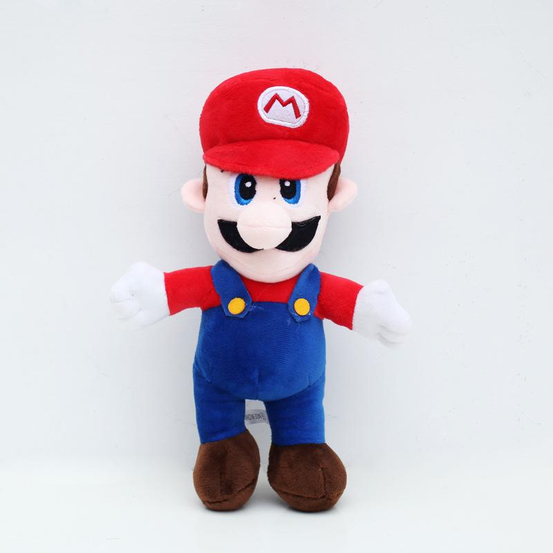 "10""25cm Super Mario Bros MARIO & LUIGI Plush Doll Stuffed Toy"