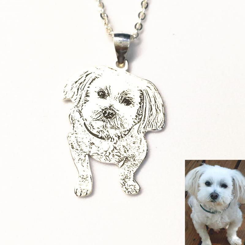 Jewelry & Watches Dog Pug Necklace-handmade Resin Jewelry Quality First