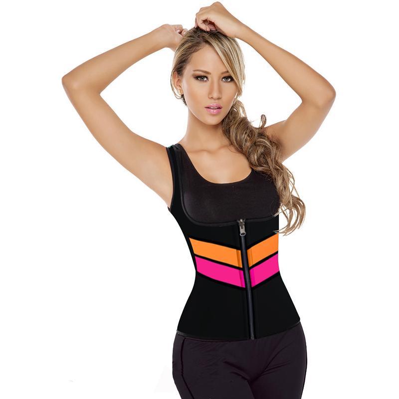 cd4b0ac03 2019 Plus S 5XL 2017 New Sexy Shaper Shirt Women Neoprene Shirt Slimming Body  Shaper Hot Redu Tops Chest Abdomen Waist Cincher Vest From Finebeautyone