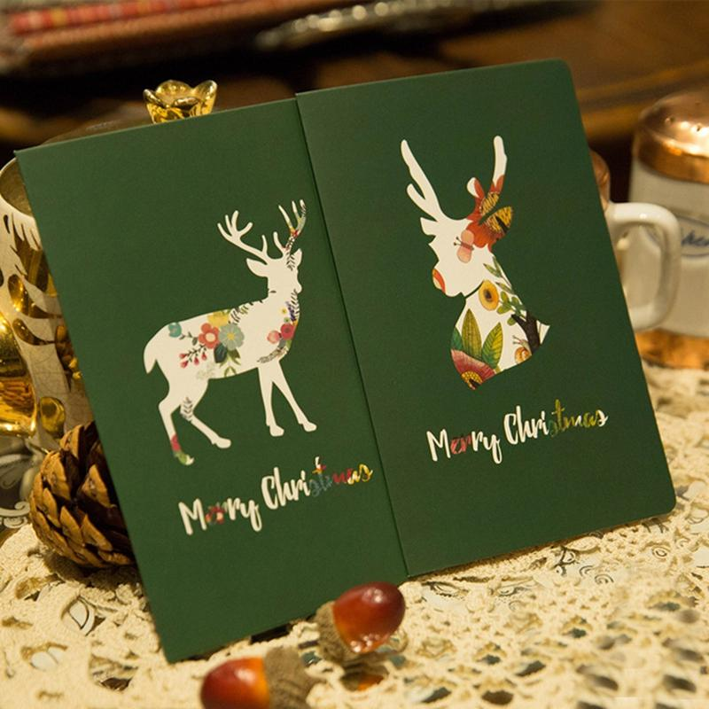 Merry Christmas Card,New Year Greeting Card ,Christmas Gift Folding ...