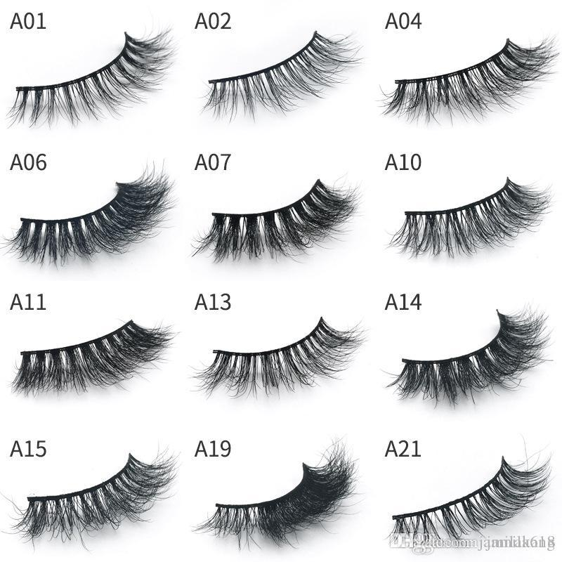 9d10963fece Hot Mink 3D Lashes Makeup Full Strip Eyelashes Thick Fake Eyelashes Hand  Made False Eyelashes Eye Lashes Make Up Eyelash Extension Red Cherry  Eyelashes Best ...