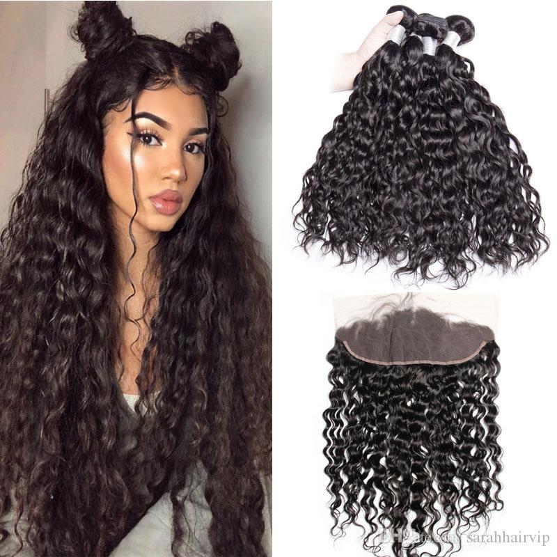 Haarverlängerung Und Perücken Moderne Show Haar Malaysia Gerade Haarwebart Bundles #4 Farbe Remy Menschenhaar Spinnt Bundles Doppel Schuss 100g Haar Verlängerung