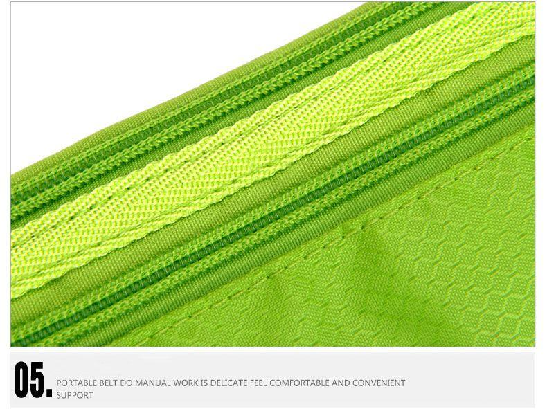 Pacote de cintura Correndo Saco Cinto Bolsa Resistente À Água Corredor Reflexivo para Correr Caminhadas Pacote de Viagem Ao Ar Livre Ciclismo A073