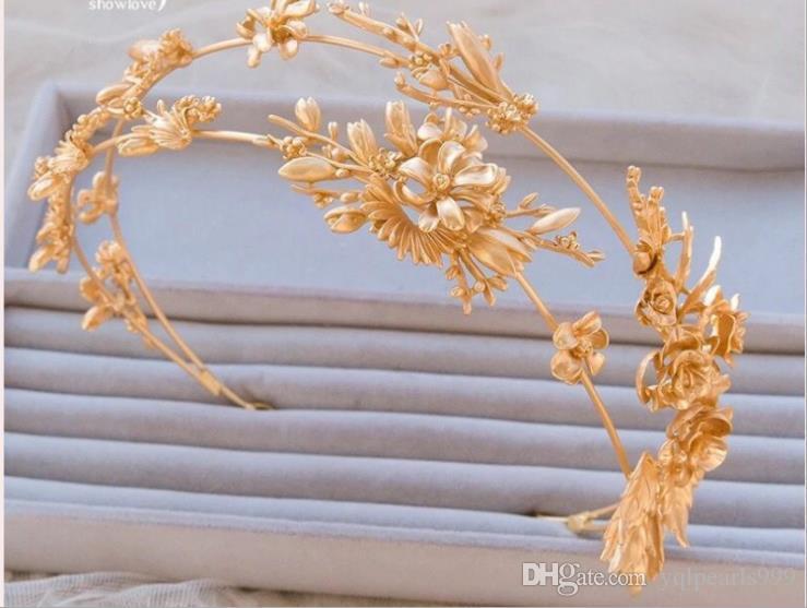 Gelin gelin headdress headdress Altın hoop altın Dragonfly
