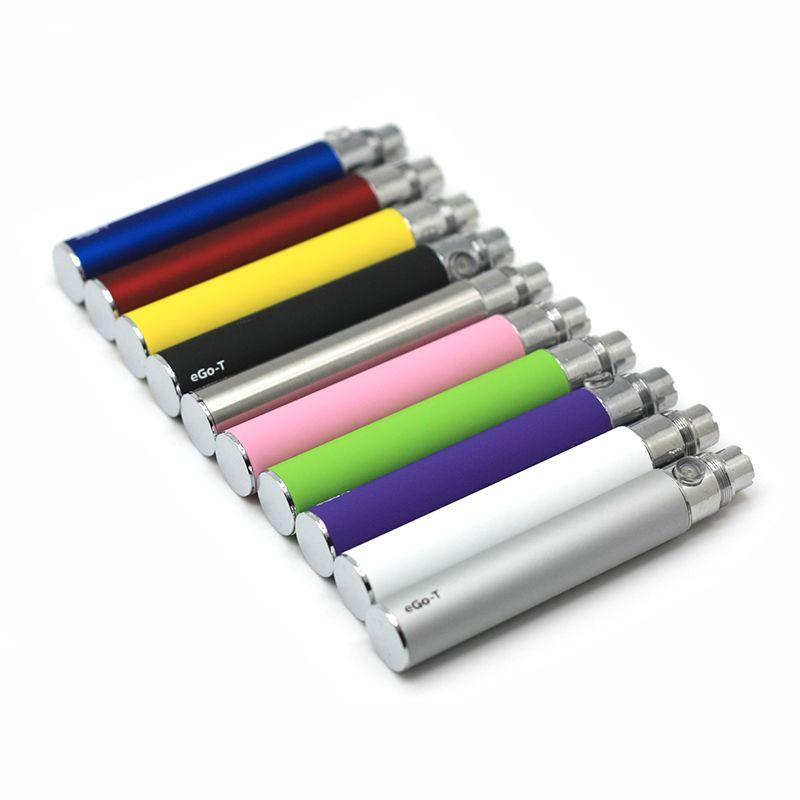 Batería eGo-T con cargador USB Baterías eGo T Cables USB 650mAh 900mAh 1100mAh E Vaporera Cigarrillo Vape Classic Vaporizador