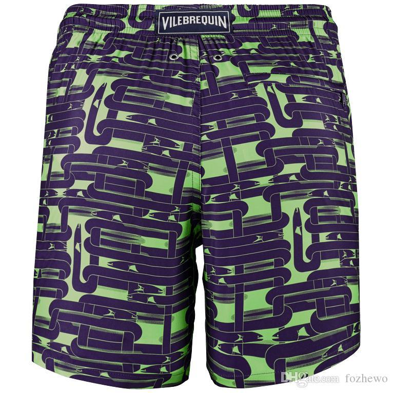 b102883353 Mens Brand Board Shorts Men Swimwear Quick Dry Flower Sport Plus Size Short  Mens Surfing Beachwear Boardshorts Men's Beach Shorts Multicolor Turtles ...