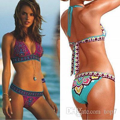 113ec79810 Sexy Women Bikini Push-up Padded Bra Swimsuit Bathing Suit Swimwear  Two-Piece Suits Women Swimwear Swimsuit Bikinis Online with  10.87 Piece on  Top7 s Store ...