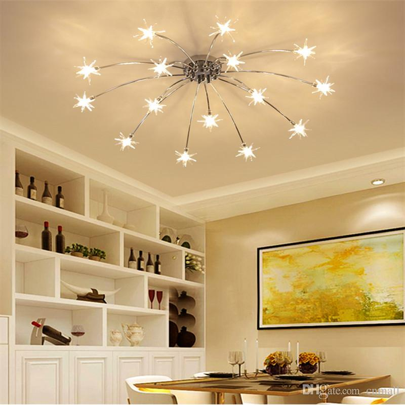 modern led chandelier for living dining room bedroom chandelier lights  lustre luminaire G4 lamp beads chandeliers fixtures lamp