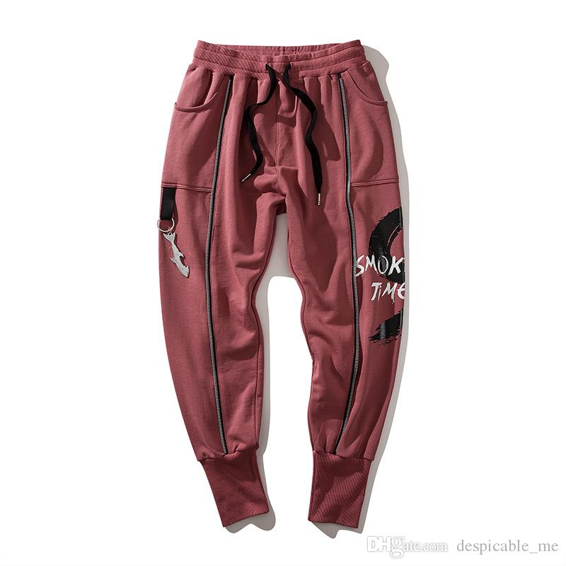 Men's Clothing Zongke Chinese Style Cotton Cargo Pants Men Trousers Streetwear Sweatpants Cargo Pants Mens Clothing Trousers Men Pants 2019 New Cool In Summer And Warm In Winter