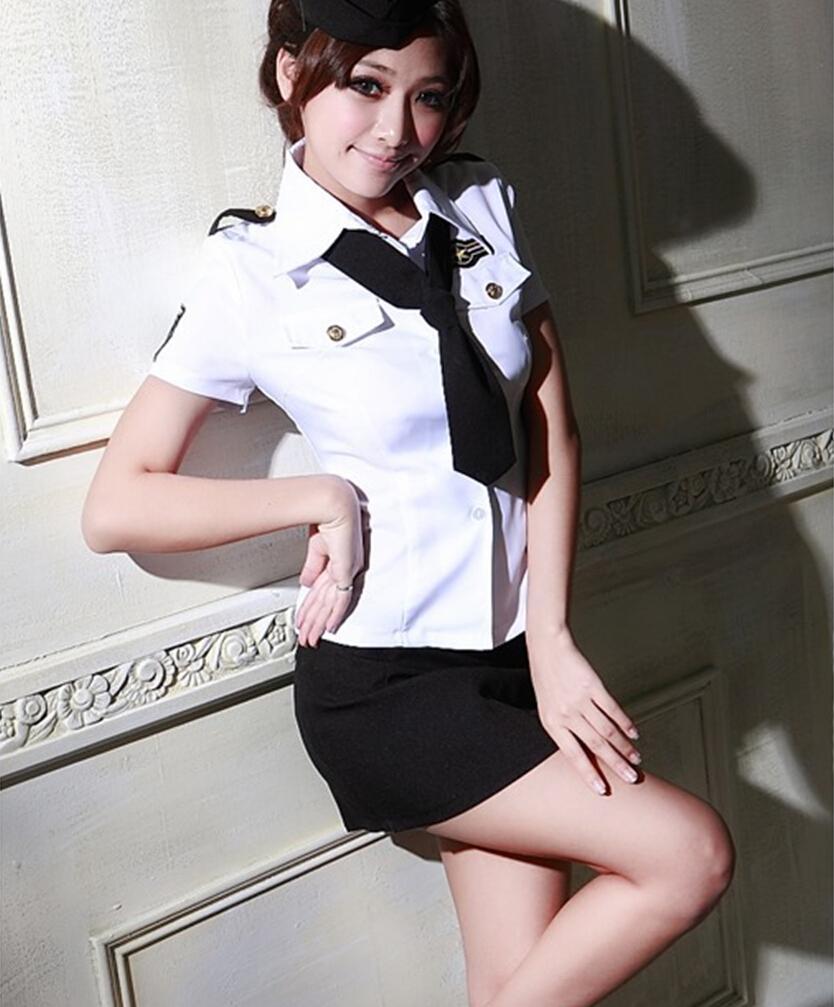 Niegrzeczny oficer kostium suknia seksowna kostiumy policyjne policjantów halloween kostium party