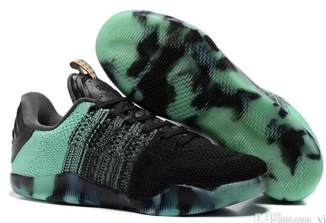 new product 6b8a0 2a539 Großhandel 2018 Hohe Qualität Nike Kobe 11 Elite Männer Basketball Schuhe  Red Horse Oreo Sneaker Kb 11 S Herren Trainer Sport Turnschuhe Größe 40 46  Von ...